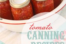 Recipes-- canning