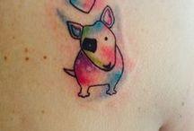 Tatoo Bull terrier / C'est décidé... maintenant il faut que je trouve celui que je garderais pour toujours en mémoire de ma Rumba <3