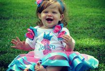 Satin Ribbon Birthday Tutu Sets / Elegant ribbon tutu sets for your special princess