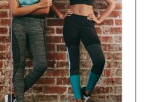 Fitness: Workout Outfits / Cute and stylish workout clothes and gym bag essentials