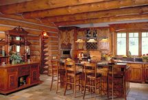 Kitchen / Pictures of Log Home Kitchens