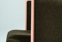 Chair TIFFIN-A / W515 D550 H820 SH450 AH640  脚部:ビーチ材、ポリウレタン塗装仕上(5色)