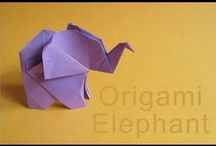 Kağıttan fil yapımı