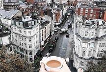 living in. → london