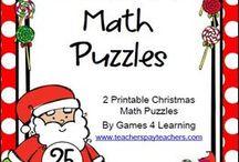 Christmas Math / Fun Math Activities for Christmas!