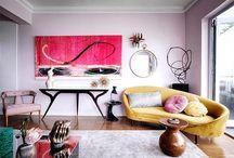 Sofás amarillos · Yellow sofas
