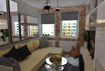 Jednoizbové byty/ Small Apartment