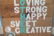 Wooden signs ideas