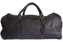 Men's Leather Holdalls, Leather Luggage and Leather Travel Bags / Men's leather holdalls, leather luggage items (e.g. suit carriers) and leather travel bags, for stylish escapades!