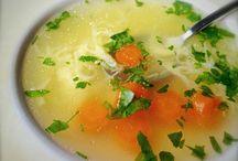 Polievky/Soups / Recepty z polievok. Soup recipes