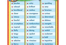 Vocabulary & Writing  / Stuff to expand your learners' writing and vocab skills