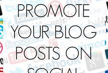 For the Blog / All about blogging:  how-tos, tips and tricks and, recommendations.