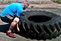 Tyre and rope training / by Louisa Cremen