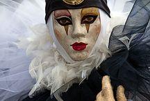 Velencei maszk fajták