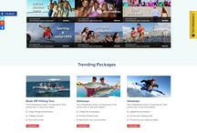 Responsive HTML5 and CSS3 / We designed this website for a for Travel Agency. I hope you people like it.