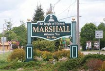 Michigan / John Bellairs's hometown of Marshall, Michigan