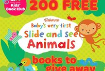 Baby's Very First Slide and See Animals / Baby book from Usborne Publishing, out now.