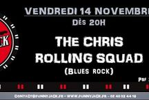 The Chris Rolling Squad  - Concerts Flyers & Posters
