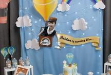sıcak hava balon doğum günü