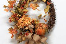 Podzim dekorace