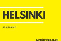 HELSINKI / Fun tips, tricks and trips should you find yourself in the Finnish capital of Helsinki. Would you like your next trip abroad to be a complete surprise? Find out more about our latest project at http://surprisetrips.co.uk/