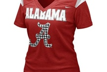 Crimson Tide of Alabama / by Suzanne Light