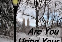 """Are You Using Your Gifts? / In this short-short story, a seasoned New Yorker is blown off course and thrown into examining her entire life when a """"crazie"""" approaches her one windy day with a question she finds difficult to answer.  Available on Amazon.com  Find out more at www.kathrynVwhite.com"""