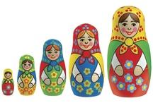 A Russian Souvenir Shop -- Nesting Dolls, Gifts, Lomonosov ...