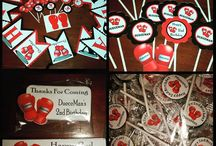 Boxing Theme First Bday
