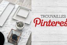Trouvailles Pinterest: Le marbre