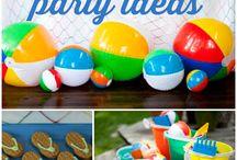 Beach Party Themed Ideas