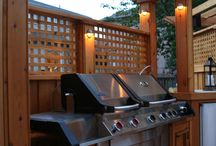 Outdoor patio and BBQ