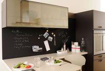 La cuisine en blanc / Idees d'aménagements et de styles pour la cuisine