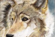 Pintura De Lobo