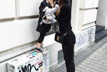 aQademia inspiracje / Lena Terlutter - jedna z naszych ulubionych blogerek razem z córeczką. Kochamy ich styl!