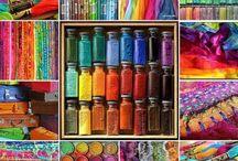 couleurs / by Ywana