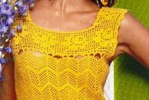 ♥ Loving Crochet - Tops, sweaters, boleros and blouses ♥ / by Miriam Ramírez-Soto