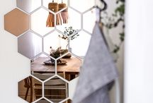 Hexagon mirrors