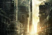 Post-Apocalyptic City. Апокалипсис.