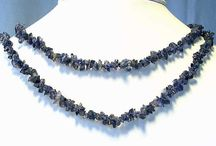 Hand crafted, Artisan jewelry > Necklaces / Labradorite, Shell, Quartz and natural gemstone necklaces.