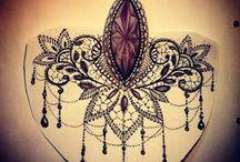 Krajkové tetování