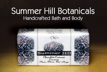 Summer Hill Botanicals Handcrafted Bath and Body / A bath and body company that works with customers on a one to one basis. Creating unique scents and products to help with skin issues. Thousands of scents and a growing product line with skin healthy oils. Natural. Organic.