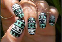 Ongle Aztèque / Style Aztèque Authentique