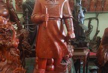 Tượng Trần Quốc Tuấn / Các mẫu tượng Hưng Đạo Vương - Trần Quốc Tuấn đẹp bằng gỗ