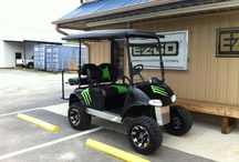 golf carts / by Kim Anderson