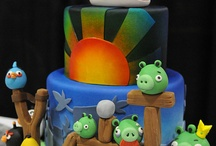 Recipes: Cakes & Cupcakes Galore / Delicious, decorated or just Fun to eat! Cakes of all kinds.