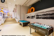 A&O Salzburg Hauptbahnhof - Salzburg, Asutria - #LoveHostels / Enjoy your stay in the Mozart's city at A&O Salzburg Hauptbahnhof. The A&O is pet-friendly and guests can enjoy the on-site bar with the cheapest coffee of the city!  Desk is 24-hour and it's just 5km from the Salzburg W. A. Mozart Airport! And as everyone knows, there's nothing quite like a good night's sleep to leave you feeling fully refreshed and ready to explore Salzburg's beautiful surroundings the next day. Book on bit.ly/2fA6cvZ