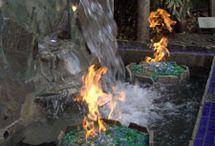 Moodboard fire&water