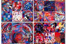 SUE BENNER art quilts