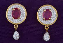 American Diamond (AD) Earrings